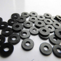 Wholesale 200 Nylon M3 Washer mm x8mm x1mm thickness w74 x8x1black Nuts amp Bolts