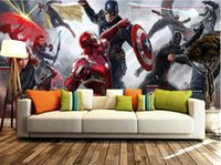 art house america - Captain America Monster Wars Poster save planet Wall Murals Large art Photo Wallpapers wall stickers Children s room Bedroom wallpaper d