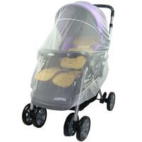 baby carriage covers - Summer Safe Baby Carriage Insect Full Cover Mosquito Net Baby Stroller Bed Netting