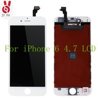 Wholesale 100 Original No Dead Pixel for IPhone LCD Display Touch Screen Digitizer Assembly Replacement Black or White Tool