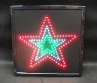 Wholesale FLASHING CHRISTMAS DAY LED SIGN STAR LARGE SIZE CM X CM