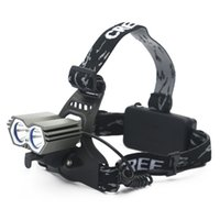 Wholesale Waterproof Headlight Q5 LED Headlamp Battery Powered Head Lamp Torch LED Flashlights Torch for Hunting Fishing
