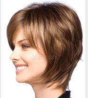 Wholesale Women Hair Europe and the United States a wig Short hair Fluffy shave hair Synthetic Wigs M05