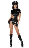 sexy bedroom costumes - Sexy Naughty Cop Police Uniform Outfit Bedroom Fun Fancy Dress Hen Halloween sex toys cosplay Costume S151