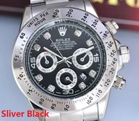 automatic paper - Famous Brand Rolex Sports Men Watches Stainless Steel Band Mens Luxury Watch Master With Automatic Date