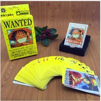 Wholesale Anime Luffy one piece Poker Cards Playing Cards set