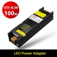 Wholesale 8 A V DC W Power Supply LED Driver Adapter Transformer Switch For Led Strip Lighting LED Ribbon