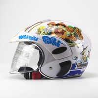 Wholesale Children s Motocross Motorcycle Motor Helmet Winter Warm Comfortable Motos Protective Safety Helmets For Kids years Old