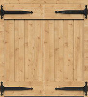 antique swinging doors - 21 quot antique black barn wood door T hinge swing door hinge