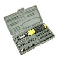 auto repair business - 41PCS Sockets Wrench Screwdriver Hand Tools Kit For Household and Business Auto Repair Set