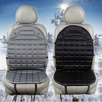 purple car seat covers - 12V Universal Heated Car Seat Cushion Cover Seat Heater Warmer winter household cushion Color black gray
