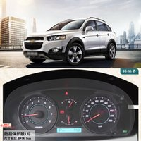 Wholesale High Qualit Anti scratch PET Dashboard Transparent Protective For Chevy Captiva