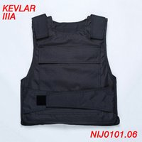 ballistic jackets - Body Armor NIJ IIIA Bulletproof Vest Tactical Kevlar Ballistic Vest Jacket Safety Vest Self defense Supplies Work Cothes ME0001