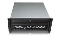 Wholesale 4u industrial computer case hard drive optical drive bit mm aluminum panel full open the door g448l