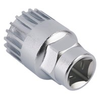 bicycle spindles - New Cycle Cycling Mountain Bicycle Sealed Bottom Bracket Spindle Remover Repair Silver Steel Tool Sports