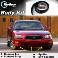 Wholesale Bumper Lip Lips Front Skirt Deflector Spoiler For Car Tuning The Stig Recommend Body Kit Strip For BUICK LeSabre