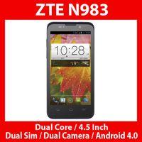 Cheap Wholesale -ZTE N983 Smartphone Dual Core Dual Camera Dual Sim CDMA2000 GSM
