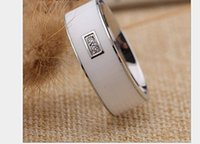Wholesale White Color in1 Magic Rings Diamond Smart Ring Titanium NFC Signature Ring Waterproof NFC Ring Magic Jewelry Android Smart Phone For Sam