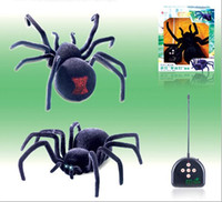 Wholesale New anime Name quot Poly quot Intelligent Machine Remote Control Robot Toys Black Widow Spider Electronic Pets Baby Toy Gifts For Kids160612