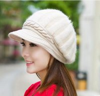 Wholesale 6 color new arrival women cap berets Fashion Accessories autumn winter cap Warm autumn winter fashion knitting Beret peaked adult caps hats