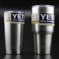 best quality beer - Yeti oz oz oz oz Rambler Stainless Tumbler Bilayer Insulation Cups Car Beer Mug Large Capacity Sports Mugs best quality by DHL