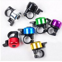 Wholesale Fashion Mini Cycling Metal Ring Handlebar Bell Horn Loud Sound Alarm Bike Mountain Bike Cycling Riding Sport Bicycle Bell Horn