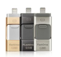 Wholesale OTG Flash Drive GB GB GB GB Mobile Phone Extended USB i Flash Drive for iPhone iPad iOS android device