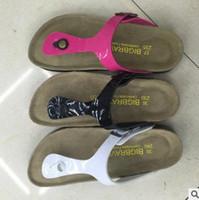 beach slippers women - 2016 New Birkenstock Arizona Beach Sandals Floral Flip Flops for Women Cusual Slipper Shoes for Sale