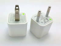apple european power adapter - Top High Quality White European USA USB AC Travel Wall Power Adapter EU US Plug Charging Charger Adapter For iPhone s c s s plus