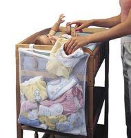 Wholesale Newborn cot crib bedding set baby cot sets baby bed storage pockets diaper bag bed crib organizer baby hanging stoarage bag