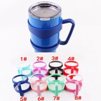 beer for sale - 30oz Yeti Rambler Tumbler Handle Protable Hand Holder for YETI Cooler Cups Beer Mugs Colors Can Choose Hot Sale High Quality