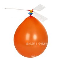 ballon helicopter - Latex Balloons Aircraft Helicopter Balloon UFO Ballon Aircraft Creative Toy