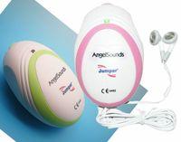 Wholesale Angelsounds CE FDA Mini Ultrasound Fetal Doppler MHz Probe Prenatal Detector Fetal Heartbeat Baby Monitor JPD Smini