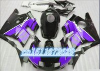 Cheap black purple fairing kits for 91 92 93 94 CBR 600 F2 CBR600 F CBR600 F2 1992 1993 1991 1994 fairng sets