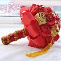 Wholesale 2015 New wedding supplies genuine original D366 classic Chinese style gift bride holding bouquet