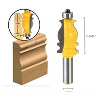 Wholesale 1 inch Shank Ogee Chisel Wood Cutter Router Bit Set Door Woodworking Carpentry Kit Tool Parts