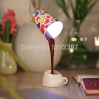 Wholesale Creative DIY LED Coffee Mug Light Energy Saving Cup Lamps with USB ES88 HB88