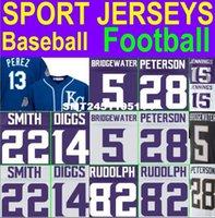 american vikings - 2016 Cheap American Baseball Football Adrian Peterson Jersey Teddy Bridgewater Jersey Sports Jerseys Youth Women Vikings Jersey