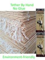 Wholesale Sushi Tools DIY Nautral Bamboo sushi rolling mats sushi roller