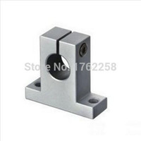 Wholesale 4pcs SK20 mm linear bearing rail shaft support XYZ Table CNC Router SH20A