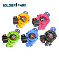 Wholesale Portable Mini size Bicycle Lock Bike Cycle Heavy Duty Coil Combination Security Lock Steel Spiral Cable Bicycle Lock Colors order lt no tr