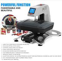 ST-420 Sunmeta Auto-neumático 3D sublimación Máquina de la prensa, la nueva camiseta de la impresión de calor máquina de prensa de 26 * 38 cm, 220V