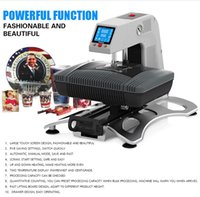 Wholesale ST Sunmeta Auto Pneumatic D Sublimation Press Machine newest T shirt printing heat press machine cm V