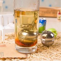 Wholesale Hot Sale Tea Infuser Filter Mesh Ball Strainer Cooking Tools Stainless Steel Size CM
