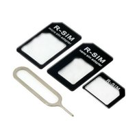 Wholesale in for Nano Sim Card to Micro Sim Card Standard Sim Card Adapter Converter Mobile Phone Accessories
