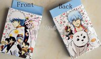 Wholesale 100packs Anime Cartoon Silver Soul Playing Poker Cards Mixed