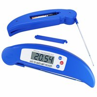 Household best food thermometer - Best Ultra Fast Instant Read Digital Electronic Barbecue Meat Thermometer Food With Collapsible Internal Probe