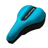 Wholesale 2016 New Bicycle Saddle Gels Bike Saddle Cover Cycling Seat Mat Comfortable Cushion Soft Seat Cover for Bike