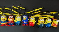 Wholesale minions influenza should be suspended aircraft flying toys for children s