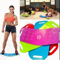 bench body - Simply Fit Board Fitness Balance Board Professional Blue Orange Green Purple Body Shaper Yoga Plate OOA849